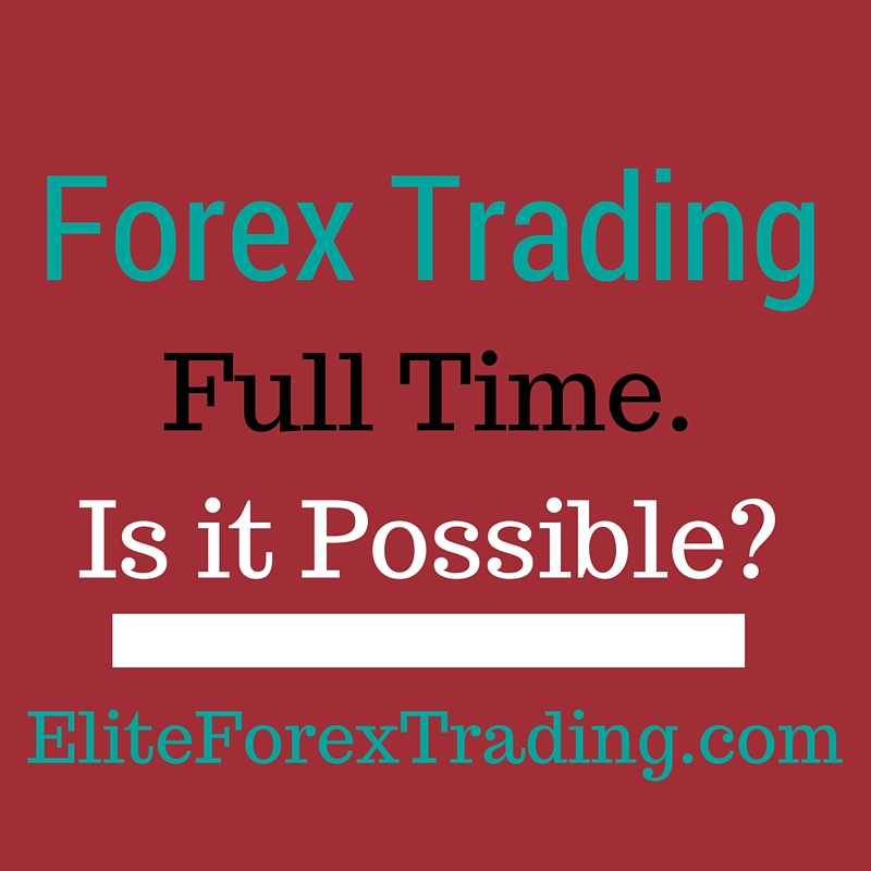 Work from home forex trader